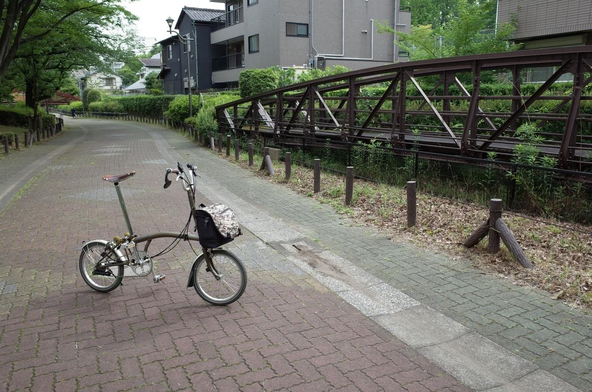 木場 ポタリング ブロンプトン 旧新田橋