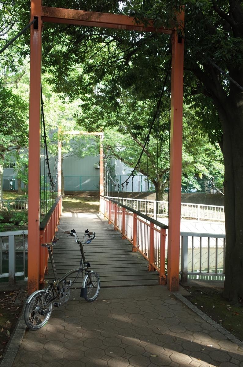 仙台堀川公園 ポタリング ブロンプトン