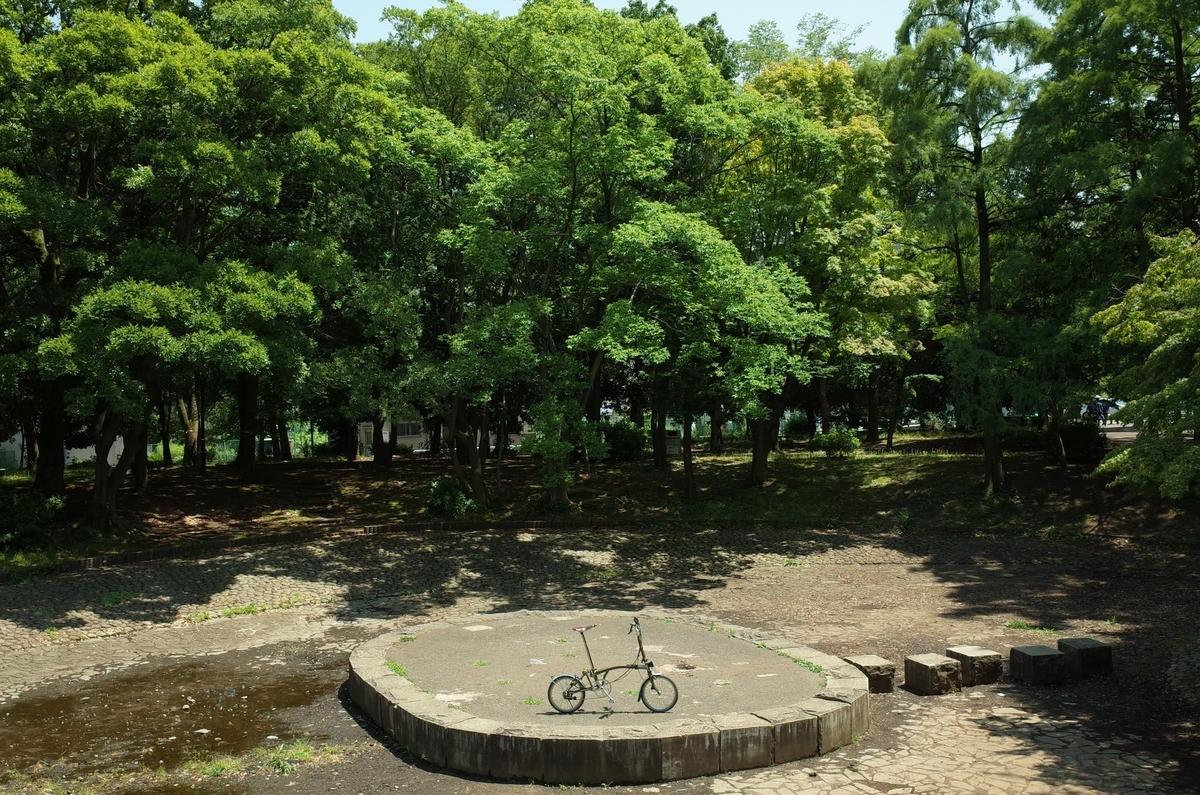 清澄庭園 ブロンプトン ポタリング