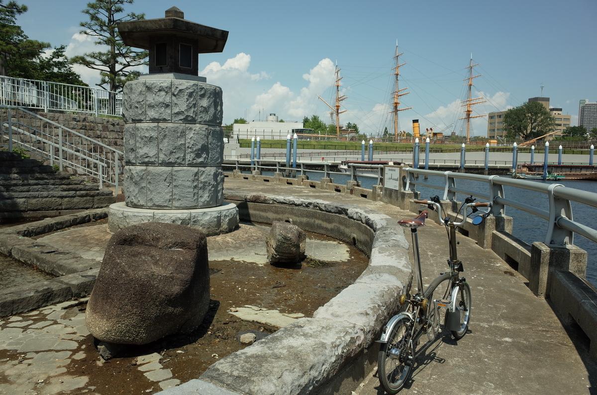 晴海運河 ブロンプトン ポタリング