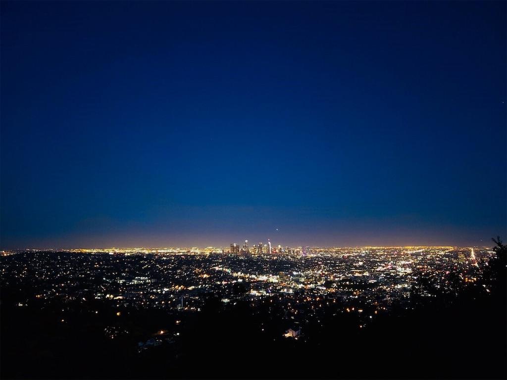 グリフィス天文台 夜景