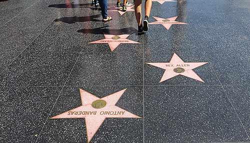 ウォーク・オブ・フェイム walk of fame