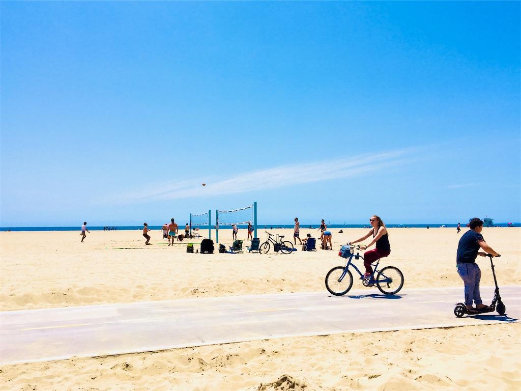 サンタモニカ ベニスビーチ
