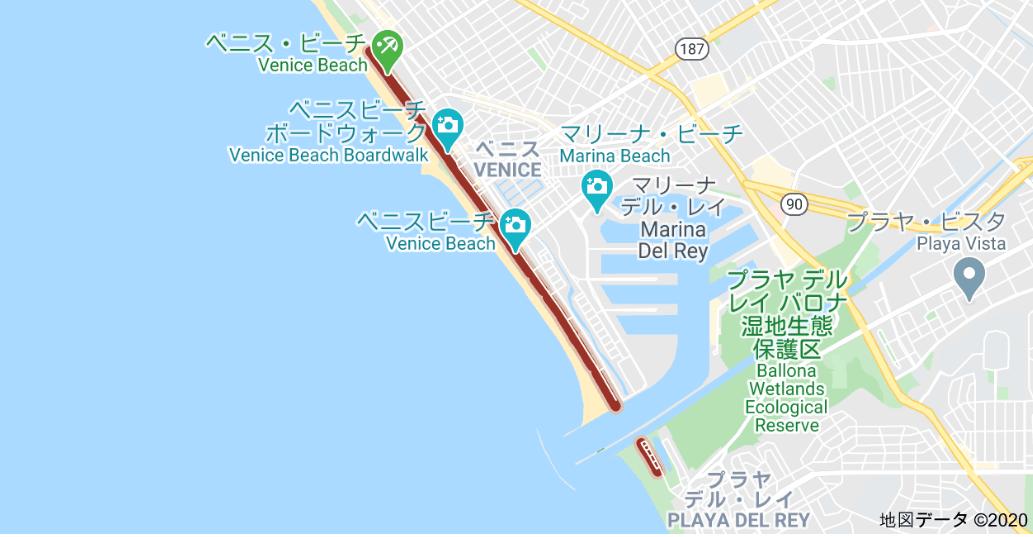 ベニスビーチ 観光