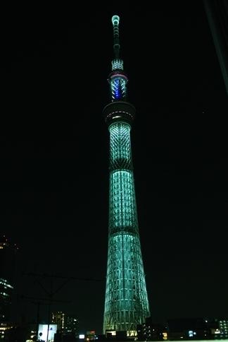 夜桜ツリー【咲】