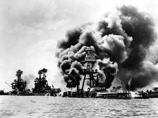 日本偷袭珍珠港事件历史照片