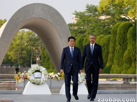奥巴马在广岛未道歉,安倍也不打算在珍珠港道歉