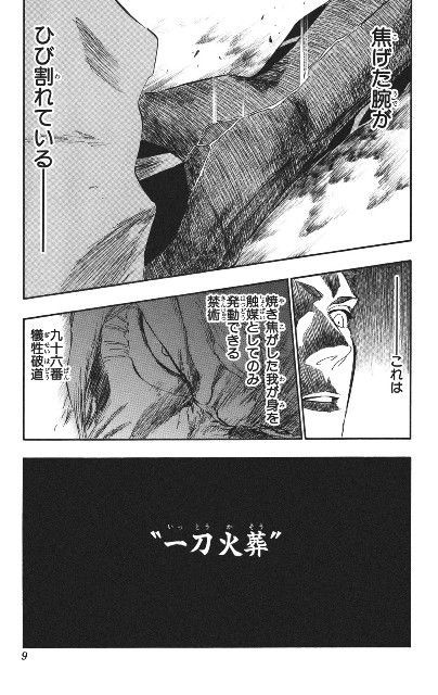 BLEACH/一刀火葬