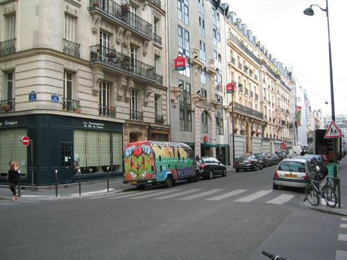 7月28日20時頃のパリ市内
