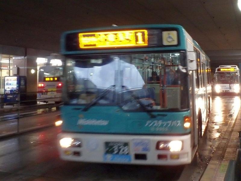 黒崎バスセンターに到着する砂津行特快