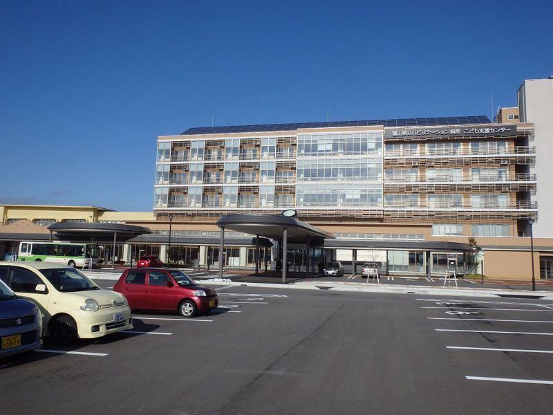 県リハビリセンターと地鉄バス