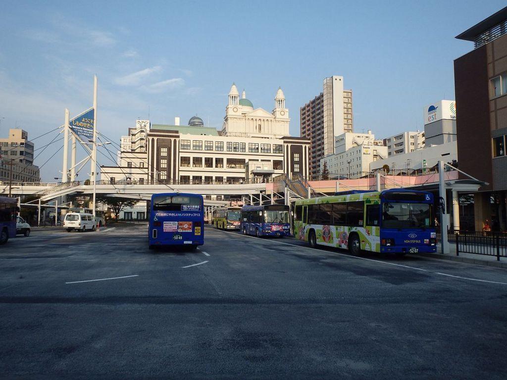 下関駅前ロータリー