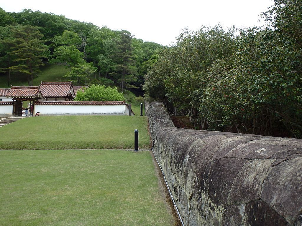 閑谷学校 石塀