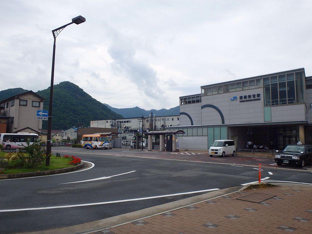 播磨新宮駅にて