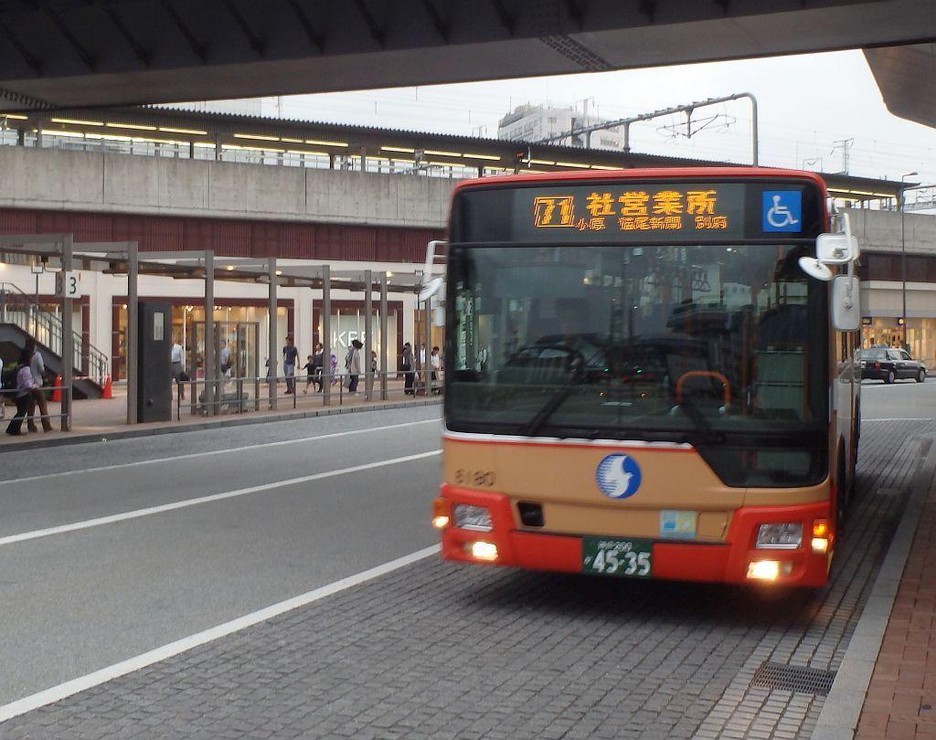 姫路駅北口にて