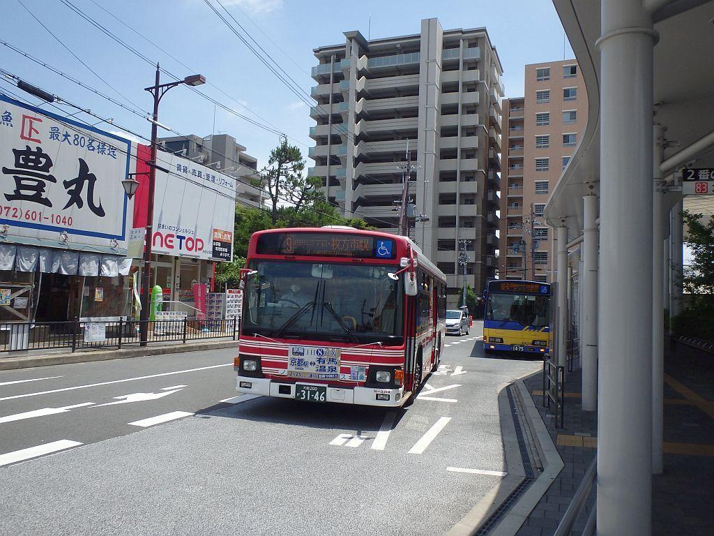JR茨木東口にて