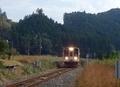 [鉄道]伊勢奥津に到着した名松線ディーゼル車