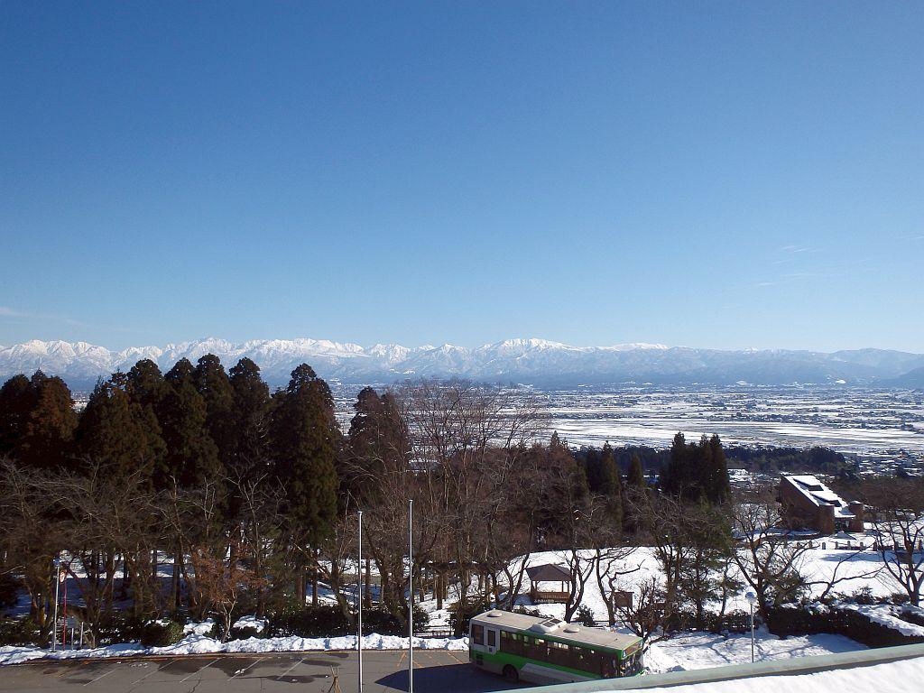 かんぽの宿富山から見た立山連峰