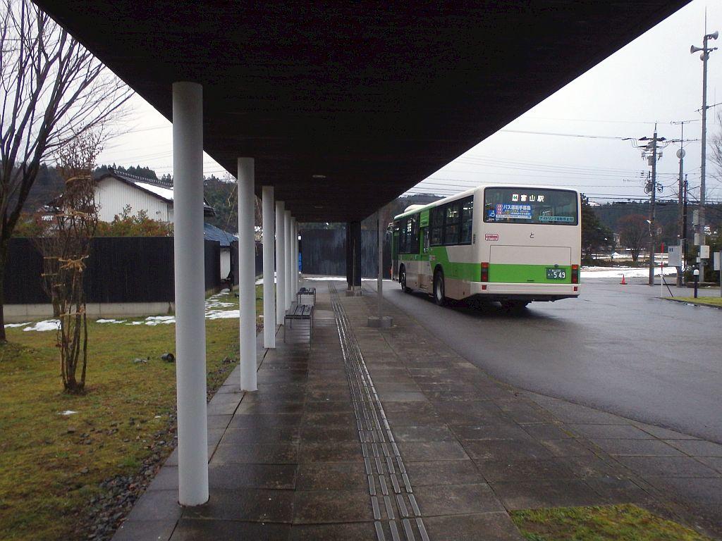 福沢のバス待合所
