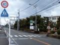 [バス停]富山東高校前バス停の位置関係