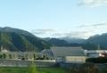 [遠景]新居浜の南西に白く見える山々
