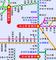 宇和島自動車が以前公開していた路線図(部分)