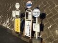 [バス停]伊那大島駅前バス停群2