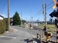 [バス停][駅]赤木駅前バス停と赤木駅