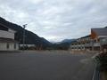 [遠景]道志小中学校前から見た富士山