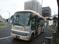 [路線バス]栃木市 ふれあいバス 市街地北部循環線 栃木駅(北口)行
