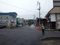 [道路][遠景]岳温泉 ヒマラヤ大通り