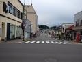 [駅]二本松駅入口交差点から見た二本松駅