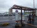 [駅][バス停]白石駅と駅前バス停群