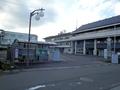 [バス停][建物]川崎町役場とバス停