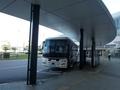 [路線バス]富山駅前に到着した山形・仙台線