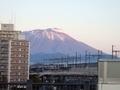 [遠景]盛岡駅西口から見た岩手山