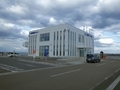 [建造物][港][バス停]大間港ターミナル