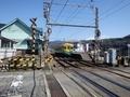 [駅][鉄道]舌山駅と地鉄電車