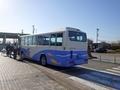 [路線バス]桜並木からのシャトルバス