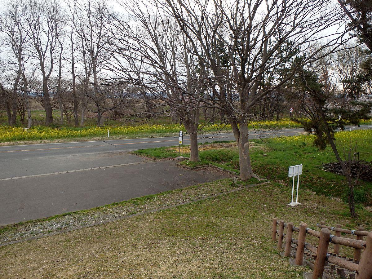 大潟富士にて