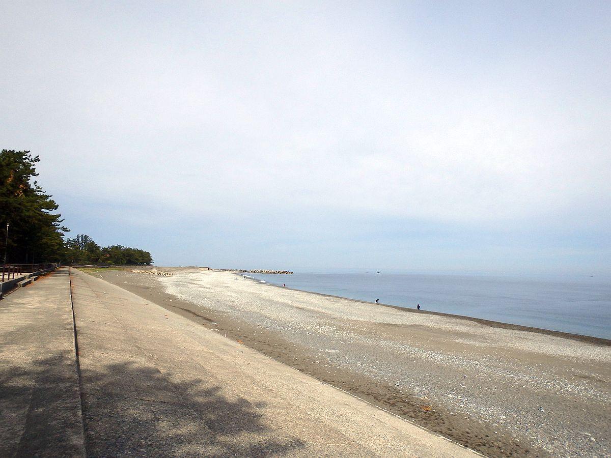 朝の宮崎海岸