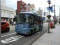 [路線バス]まいどはやバス 西ルート(富山駅前にて)