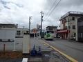 [路線バス][バス停]荏原バス停を去る荏原循環