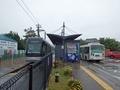 [駅][路線バス][鉄道]岩瀬浜駅とフィーダーバスと富山港線