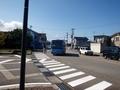 [路線バス]きときとバス 新湊大橋西桟橋口行