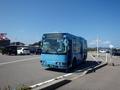 [路線バス]新湊大橋西桟橋口到着直後のきときとバス