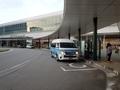 [路線バス][駅]富山駅前到着直後のぶりかにバス