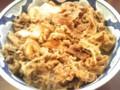 インディーズ系牛丼。タチバナで読んだ。