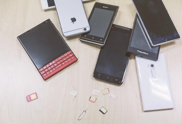 携帯の機種