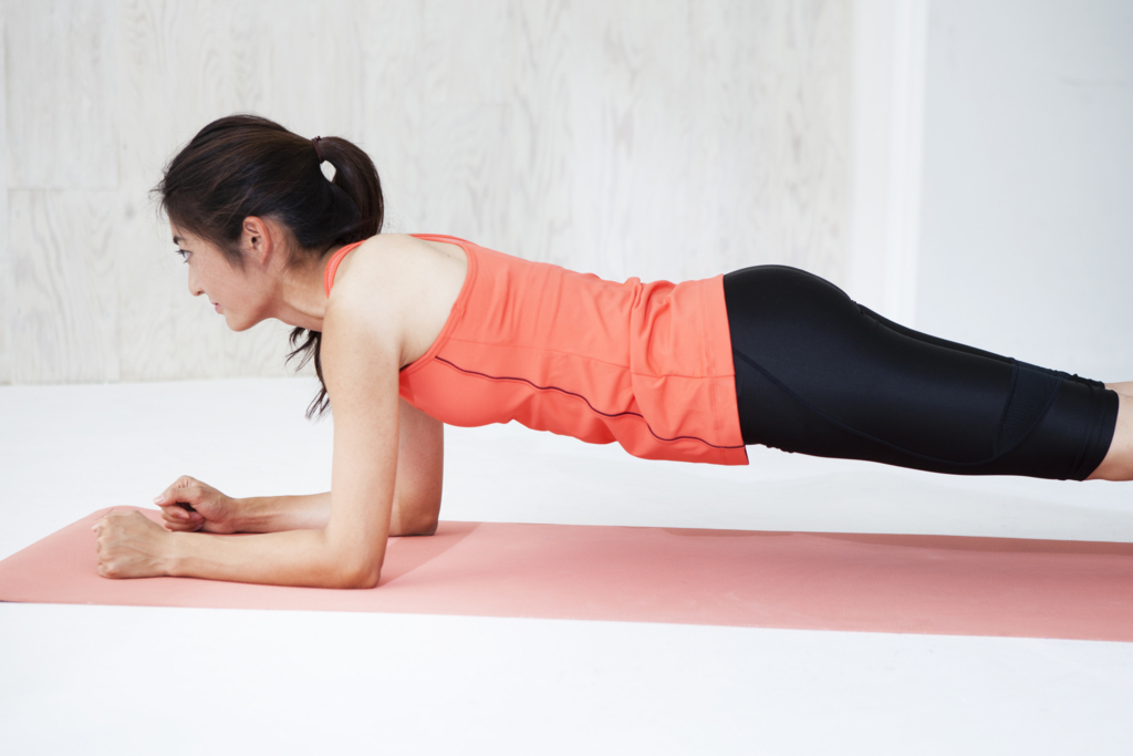 ランニングと体幹トレーニング